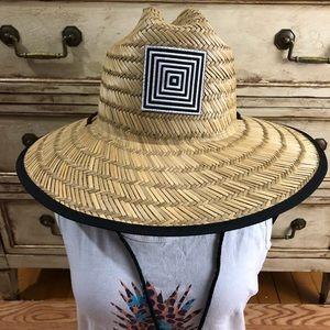 LuLaRoe Rush Straw Beach Hat